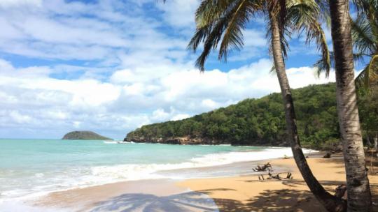 La martinique : l'île des belles plages